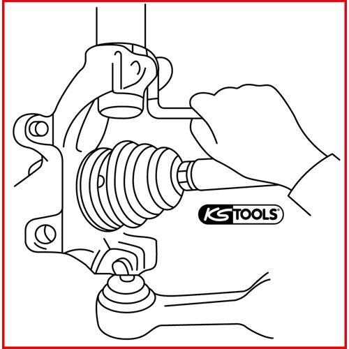 Ecarteur pour fixations de bras de suspension image
