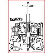 Outil de nettoyage de siège d'injecteurs pour Peugeot, Citroën, Fiat, Lancia 2.2 image