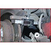 Calibre à coulisse en inox digital pour disques de frein, 0-60 mm image