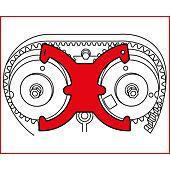 Jeu d'outils de calage moteur - Ford, Volvo image