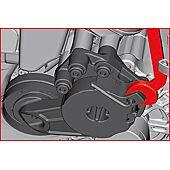 Clé de serrage et desserage pour galet tendeur automobile - VAG 1.4 TSI image
