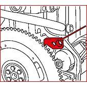 Outil de blocage volant moteur - GM / Opel image
