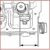 Gabarit de réglage de pompes, 3 cylindres image