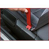 Jeu d'outils pour le démontage des garnitures de portières ABS - 6 pièces image