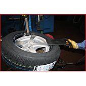 Aide démonte-pneu image