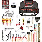 Composition d'outils électricien en sac SMARTBAG - 138 pièces image