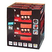 Présentoir de 9 coffrets de 3 projecteurs LEDs 3W image