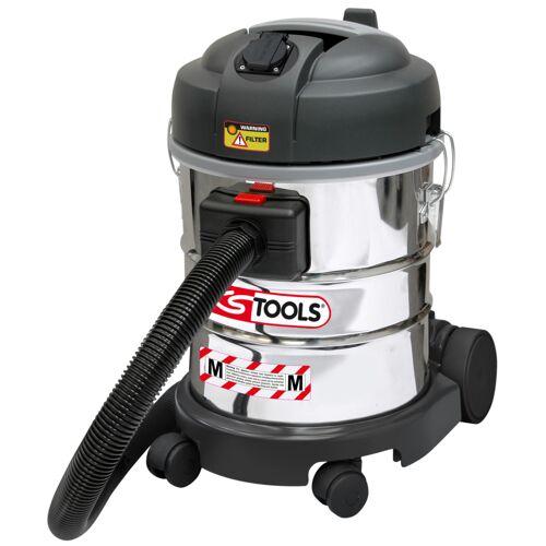 Aspirateur eau et poussière, 1400w, 20L avec filtre pour poussières fines image
