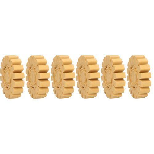 Gommes de nettoyage avec lamelles Ø 100 x 24 mm, pack de 6 image
