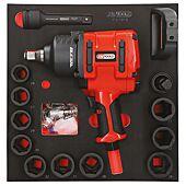 Module de douilles et clé à chocs pneumatique 3/4'', 13 pièces image