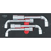 Module de clés à pipe débouchées - 6 pans, 4 pièces image