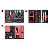 Composition d'outils spéciale roue pour servante, 60 pièces image