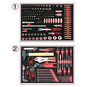 Composition d'outils pour servante 184 pièces image