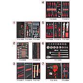 Composition d'outils 7 tiroirs pour servante, 337 pièces image