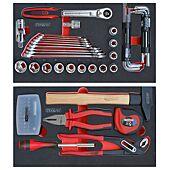 Composition 77 outils pour servante mobile bi-matière 850.0340 image
