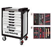 Servantes ULTIMATE 7 tiroirs équipées de 114 outils image