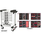 Servantes ULTIMATE 7 tiroirs équipées de 241 outils image