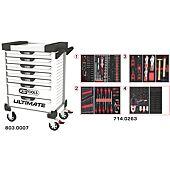 Servantes ULTIMATE 7 tiroirs équipées de 263 outils image