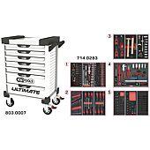 Servantes ULTIMATE 7 tiroirs équipées de 283 outils image