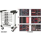Servantes ULTIMATE 7 tiroirs équipées de 429 outils image