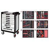 Servantes ULTIMATE 7 tiroirs équipées de 455 outils image