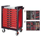 Servantes ULTIMATE 9 tiroirs équipées de 114 outils image