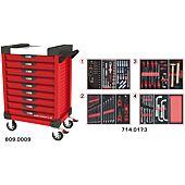 Servantes ULTIMATE 9 tiroirs équipées de 173 outils image