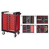 Servantes ULTIMATE 9 tiroirs équipées de 241 outils image