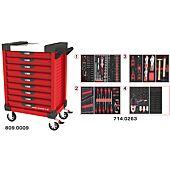 Servantes ULTIMATE 9 tiroirs équipées de 263 outils image