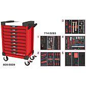 Servantes ULTIMATE 9 tiroirs équipées de 283 outils image
