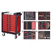 Servantes ULTIMATE 9 tiroirs équipées de 429 outils image