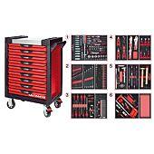 Servantes ULTIMATE 9 tiroirs équipées de 455 outils image