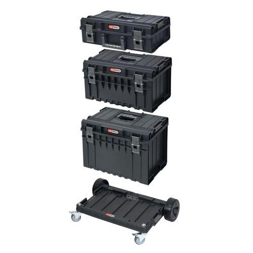 Ensemble de caisses SCM avec chariot de transport, 4 pièces image