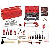 Composition d'outils pour la mécanique générale 131 pcs image