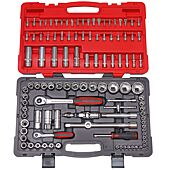 Coffret de douilles et accessoires ULTIMATE® 1/4'' - 1/2'', 111 pièces image