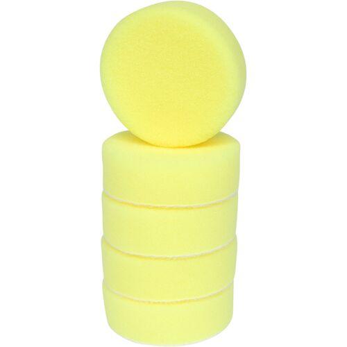 Tampons de nettoyage en plastique jaune, Ø 85 mm pour 515.5120-515.5125, 5 pcs image