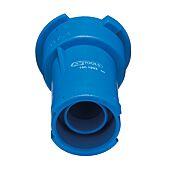 Bouchon adaptateur, bleu, / R123/R125 image