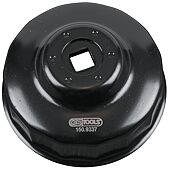 """Cloche pour filtre à huile 3/8"""", diamètre 74 mm / 15 cannelures image"""