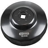 """Cloche pour filtre à huile 3/8"""", diamètre 95 mm / 15 cannelures image"""