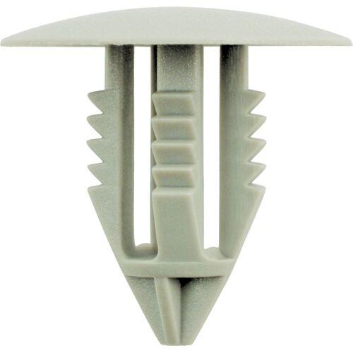 Agrafes de pare-chocs gris pour Volvo - Ø 9,1 mm - 10 pcs image