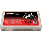 Assortiment d'agreafes de fixaton pour faisceaux de câbles, 340 pcs image