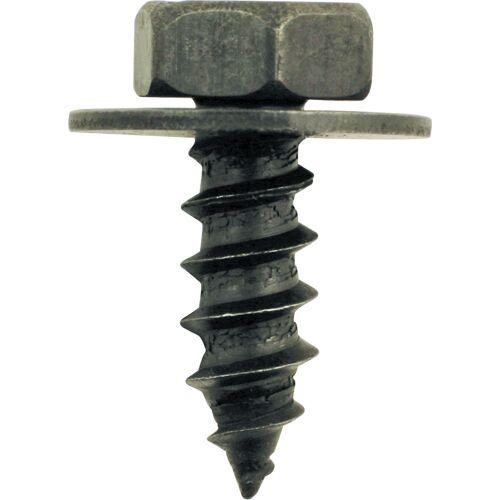 Vis en métal noire avec rondelle pour BMW - Ø 9,4 mm - 10 pcs image