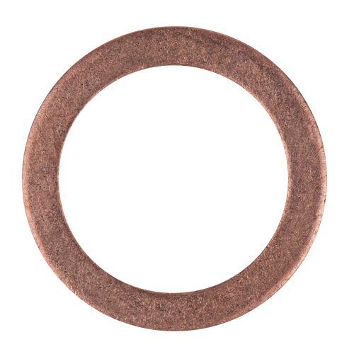 Bagues d'étanchéité cuivre 17 x 12 x 1,5 mm, 10 pcs pour BMW/Jeep/Mercedes Benz image