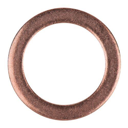 Bagues d'étanchéité cuivre 20 x 14 x 1,5 mm, 10 pcs pour Chrysler/Daihatsu/Mazda image