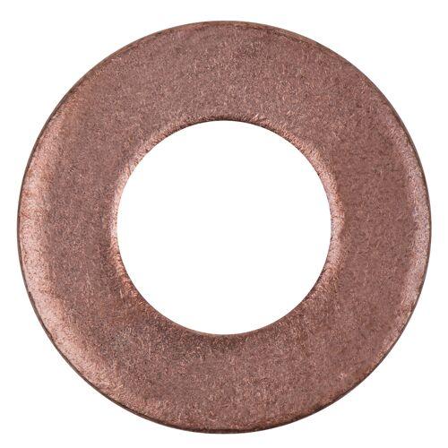 Bagues d'étanchéité cuivre 20 x 10 x 2,0 mm, 10 pièces pour BMW/Citroen/Ford image