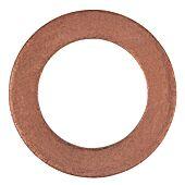 Bagues d'étanchéité cuivre 24 x 15 x 2,0 mm, 10 pièces pour Saab image
