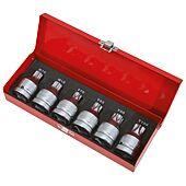 Jeu de douilles à chocs XZN® et TORX® 3/4'', M16-18 - T60 à 100 image