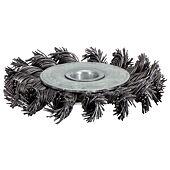 Brosse circulaire acier torsadé 0,5 mm image