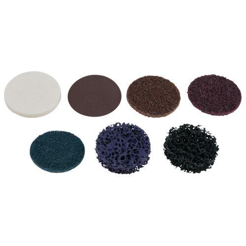 Lot de 10 disques de ponçage bleu 50,0 mm - papier de verre - Grains 300 image
