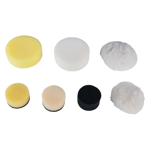 Tampons de nettoyage en plastique noir Ø 50mm pour 515.5125, 5 pcs image